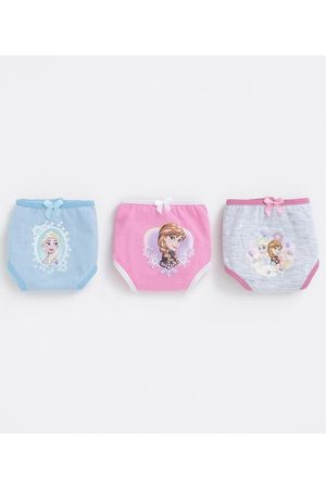 Disney Kit com 3 Calcinhas Frozen - Tam 2 a 10 | | Multicores | 04