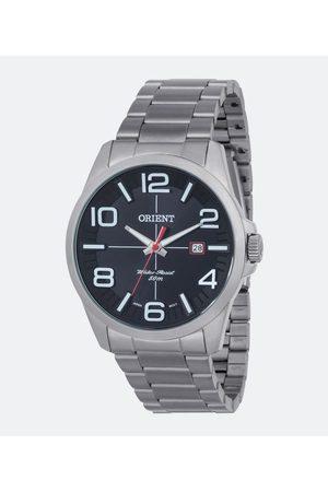 Orient Homem Pulseiras - Kit Relógio Masculino MBSS1289 P2SX Analógico 5ATM + Canivete | | | U
