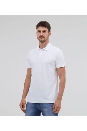 Marfinno Camisa Polo Manga Curta Lisa em Algodão Peruano | | | G