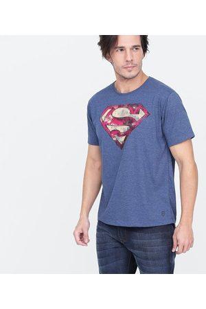 Justice League Camiseta Masculina com Estampa Super Homem | | | P