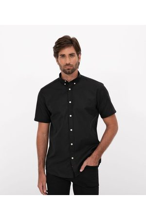 Preston Field Camisa Manga Curta Comfort em Oxford | | | 02