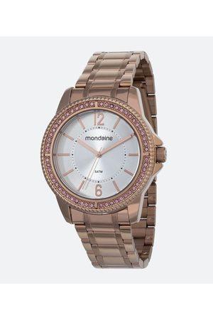 Mondaine Kit Relógio Feminino 53601LPMVRE3KA 5ATM + Pulseira | | | U