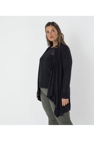 Ashua Curve e Plus Size Casaco com Pontas Curve & Plus Size | | | EG