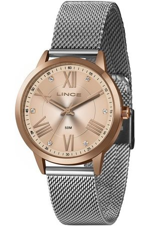 Lince Kit Relógio Feminino LRT4651L-KX56R3SX Analógico 5ATM + Pulseira | | U
