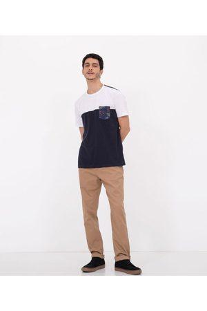 Ripping Camiseta Manga Curta com Bolso Frontal Estampado       P