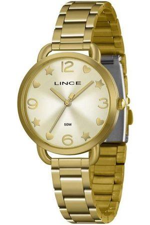 Lince Kit Relógio Feminino LRGH126L-KX17C2KX Analógico 5ATM + Conjunto Semijóia | | U