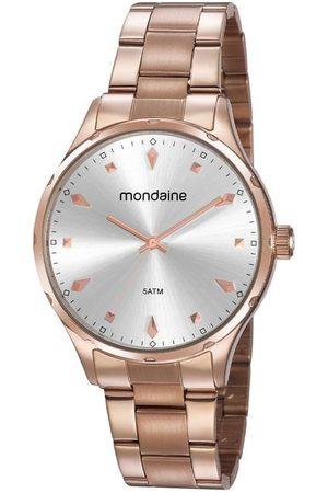 Mondaine Kit Relógio Feminino 32108LPMVRE1K Analógico 5ATM + Pulseira | | U