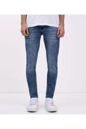 Blue Steel Homem Calça Skinny - Calça Skinny em Jeans Marmorizada | | | 42
