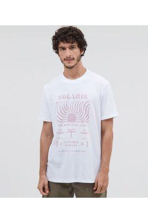 Ripping Camiseta Manga Curta Estampa Solaris Sol | | | P
