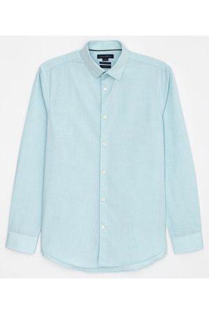 Preston Field Camisa Classic Comfort Fit Manga Longa Fil a Fil | | | 02