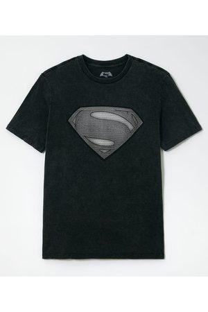 Dc Comics Camiseta Manga Curta com Estampa Super Homem       PP