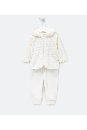 Teddy Boom (0 a 18 meses) Conjunto Infantil Casaco com Capuz e Calça em Fleece - Tam 0 a 18 meses       12-18M