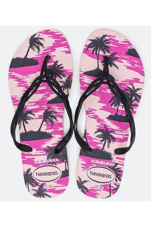 Havaianas Chinelo Feminino Estampa Tropical | | | 37/38