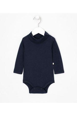 Teddy Boom (0 a 18 meses) Criança Body - Body Infantil Manga Longa Liso - Tam 0 a 18       0-3M