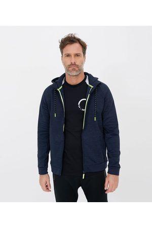 Get Over Homem Casacos - Blusão Esportivo com Detalhes Neon e Capuz | | | GG