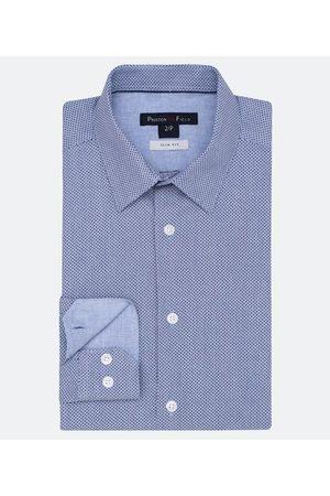 Preston Field Camisa Slim Fit Manga Longa Estampada | | | 02