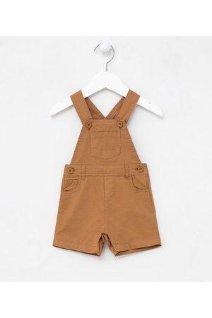 Teddy Boom (0 a 18 meses) Jardineira Infantil em Sarja com Bolsos - Tam 0 a 18 meses | | | 12-18M