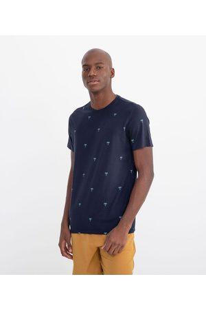 Ripping Camiseta Manga Curta Estampa ìcones Coqueiros | | | PP