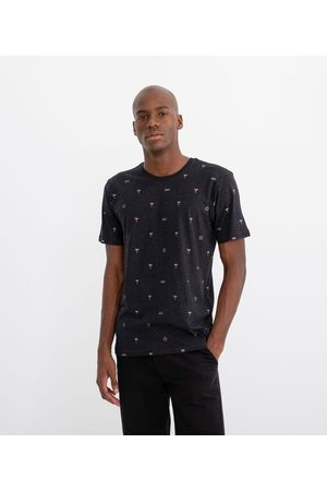 Ripping Homem Manga Curta - Camiseta Manga Curta Estampa Ícones de Praia | | | P