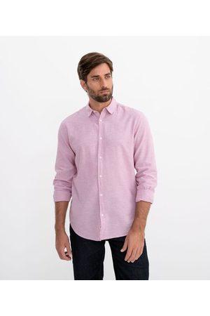 Marfinno Camisa Lisa em Linho | | | M
