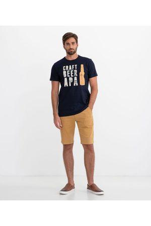 Marfinno Camiseta Manga Curta com Estampa Cerveja | | | M