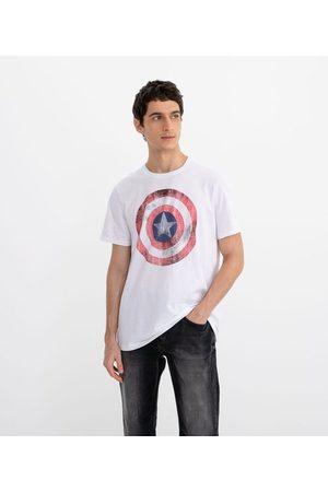 Marvel Camiseta com Estampa Capitão América | | | GG