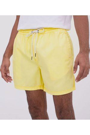 Blue Steel Homem Short - Short em Sarja com Cós Elástico | | | PP
