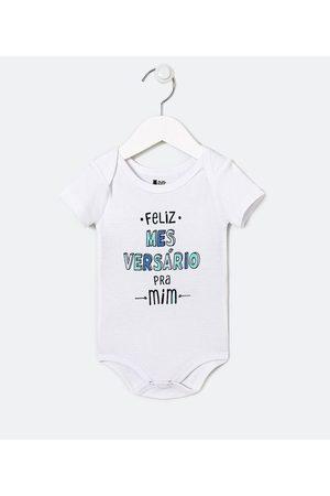 Teddy Boom (0 a 18 meses) Body Infantil Estampa Frase - Tam 0 a 18 meses | | | 0-3M