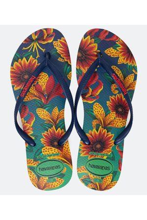 Havaianas Chinelo Feminino Slim Floral | | | 35/36