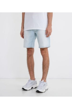Blue Steel Bermuda Jeans Slim com Bolsos | | | 46