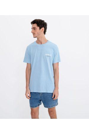 Blue Steel Camiseta Marmorizada com Estampa United | | | G