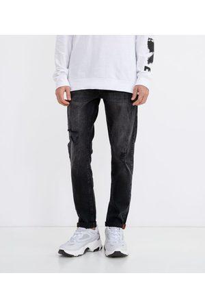 Blue Steel Calça Skinny Jeans Destroyed       36