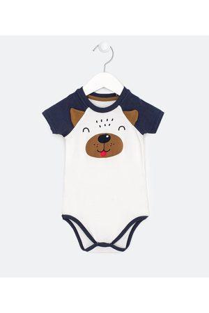 Teddy Boom (0 a 18 meses) Criança Body - Body Infatil Estampa Cachorrinho e Orelinhas 3D - Tam 0 a 18 meses | | | 9-12M