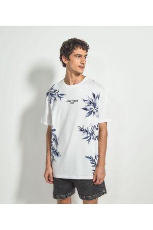 Blue Steel Camiseta Floral com Estampa Frontal | | | M