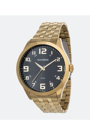 Mondaine Homem Pulseiras - Kit Relógio Masculino 99421GPMVDE2K Analógico 5ATM + Pulseira | | | U