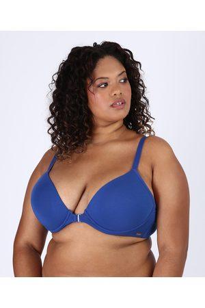 Love Secret Mulher Sutiã Triângulo - Sutiã Plus Size em Modal Triângulo Nadador com Bojo