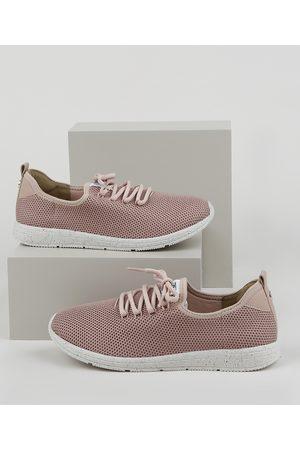 BEBECÊ Mulher Sapatos - Tênis Feminino Bebecê Knit Esportivo Texturizado