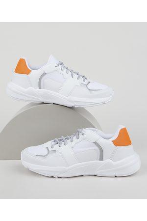 Oneself Homem Tênis - Tênis Masculino Sneaker Chunky com Recortes