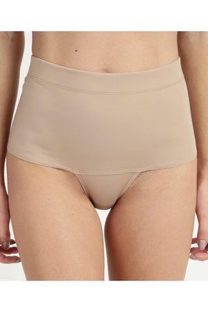 Dilady Cinta Feminina Zero Barriga Plus Size Cintura Alta