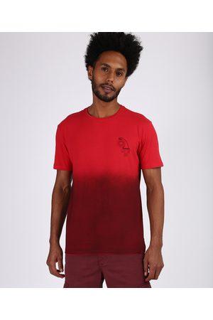 "Suncoast Camiseta Masculina Degradê Good Surf Days"" Manga Curta Gola Careca """
