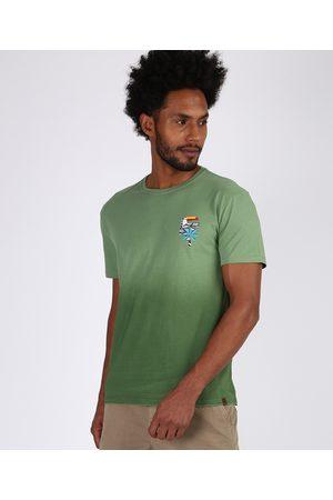 Suncoast Camiseta Masculina Degradê Tucano Manga Curta Gola Careca
