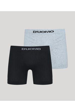 Duomo Kit de 2 Cuecas Boxer Multicor