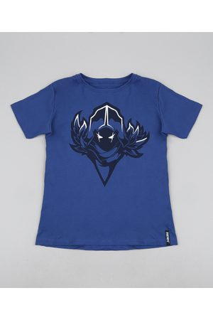 Fortnite Camiseta Juvenil Corvo Manga Curta