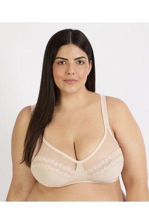 DelRio Mulher Sutiãs & Corselet - Sutiã Plus Size com Renda Sem Bojo e Aro
