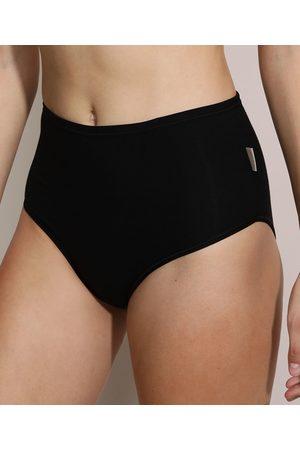 Love Secret Mulher Bikini - Calcinha Biquíni Cós Alto Classic Preta