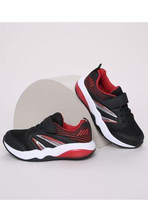 ACE Tênis Infantil Esportivo com Cadarço Tira e Velcro