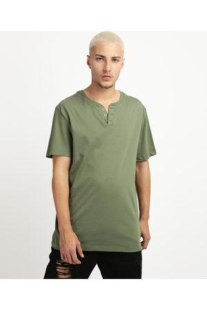 Basics Camiseta Masculina Básica Manga Curta Gola Portuguesa