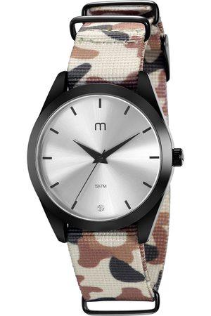 Mondaine Kit de Relógio Analógico Militar Feminino + Pulseira - 32031LPMGPJ2K