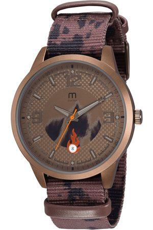 Mondaine Homem Pulseiras - Kit de Relógio Analógico Industry Masculino + Pulseira - 32075GPMGMJ1K