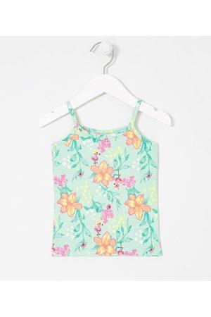 Póim (1 a 5 anos) Blusa Infantil Modelo Regata Estampa Floral - Tam 1 a 5 anos | | | 03